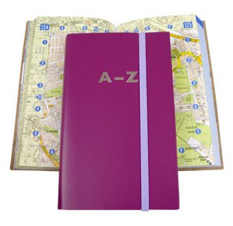 Leather Bound Mini A-Z