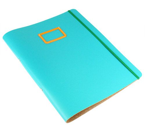 Leather Ring Binder (A4) At Undercover Online; Colourful