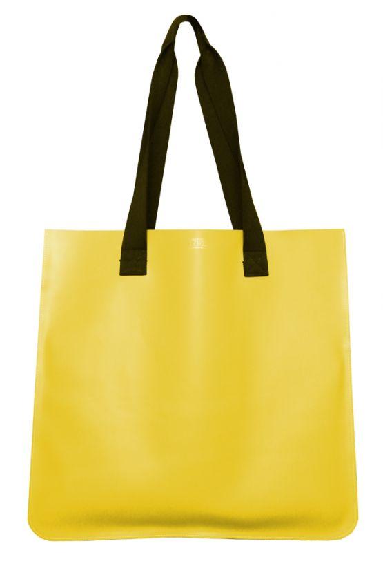 Jumbo Personalised Leather Tote Bag