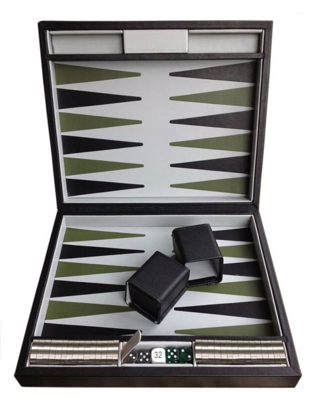 Luxury Leather Backgammon Board | The perfect gift for him