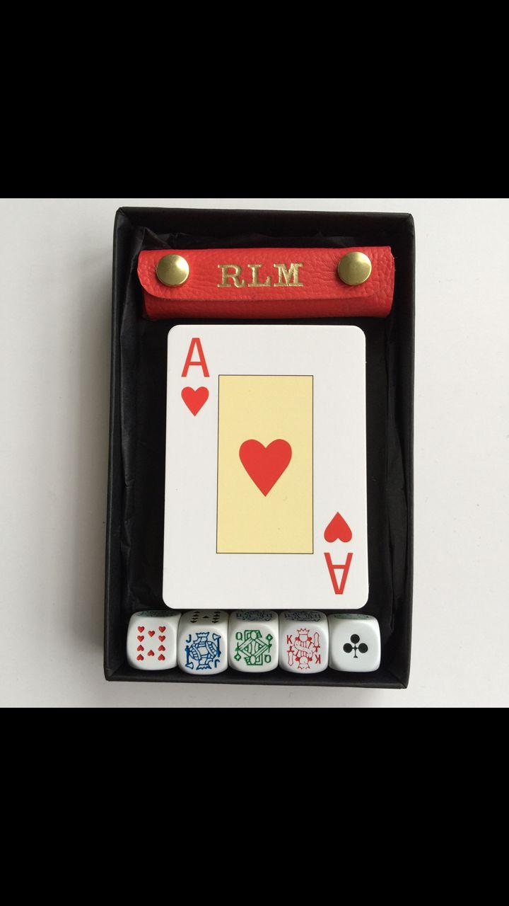 Personalised poker set uk