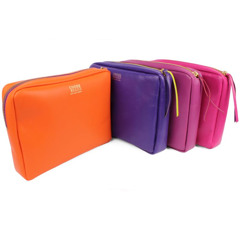 Deep Leather Make Up Bag At Undercover Online Colourful