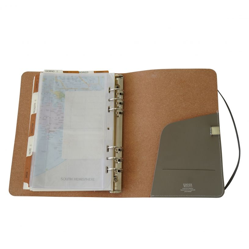 Leather A5 Notebook – Hand crafted by Undercover UK