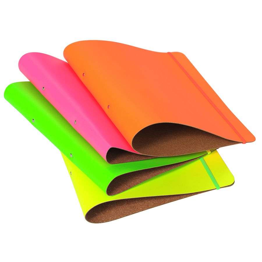 A4 Leather Ring Binder At Undercover Online; Colourful And